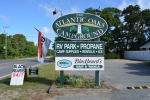 My Kayak Thwack: Atlantic Oaks R.V. Park, Eastham, Cape Cod