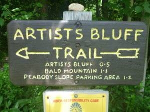 Two Hikes and a Swim: Artist's Bluff, Bald Mountain, and Echo Lake (Franconia State Park, New Hampshire)