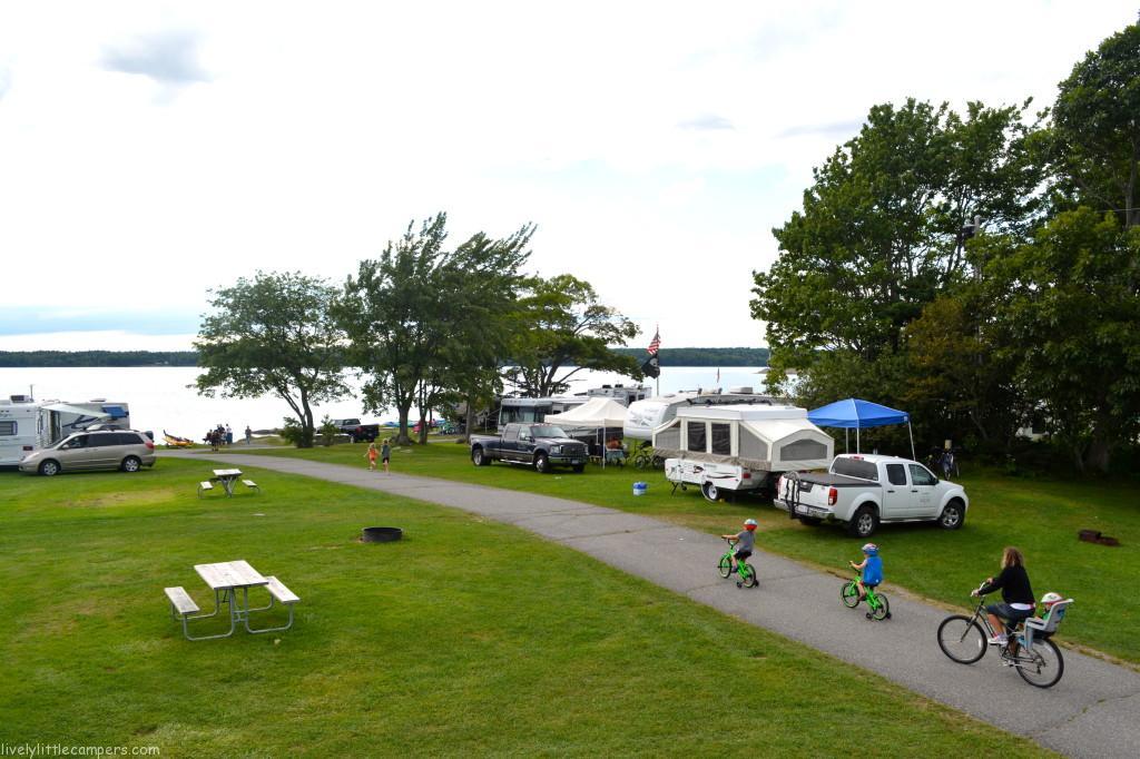Campground Review Bar Harbor Oceanside Koa Rv Family
