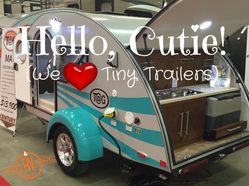 Hello, Cutie! We love tiny trailers