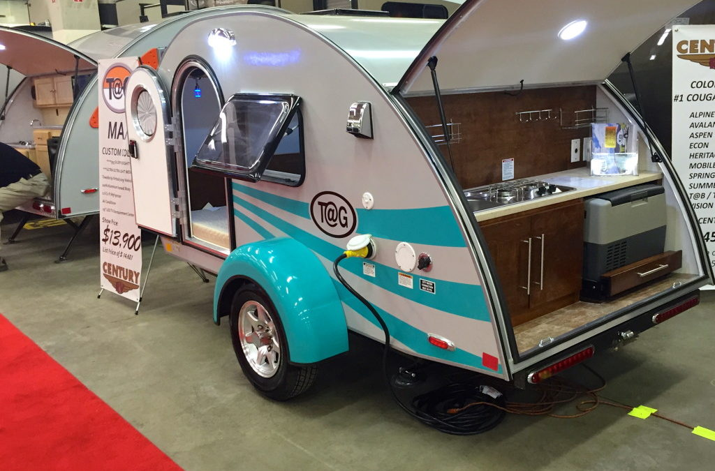 Inside A Travel Trailer >> Teardrop Campers, Jumping Jacks, A-frames and other RV Showstoppers - RV Family Travel Atlas