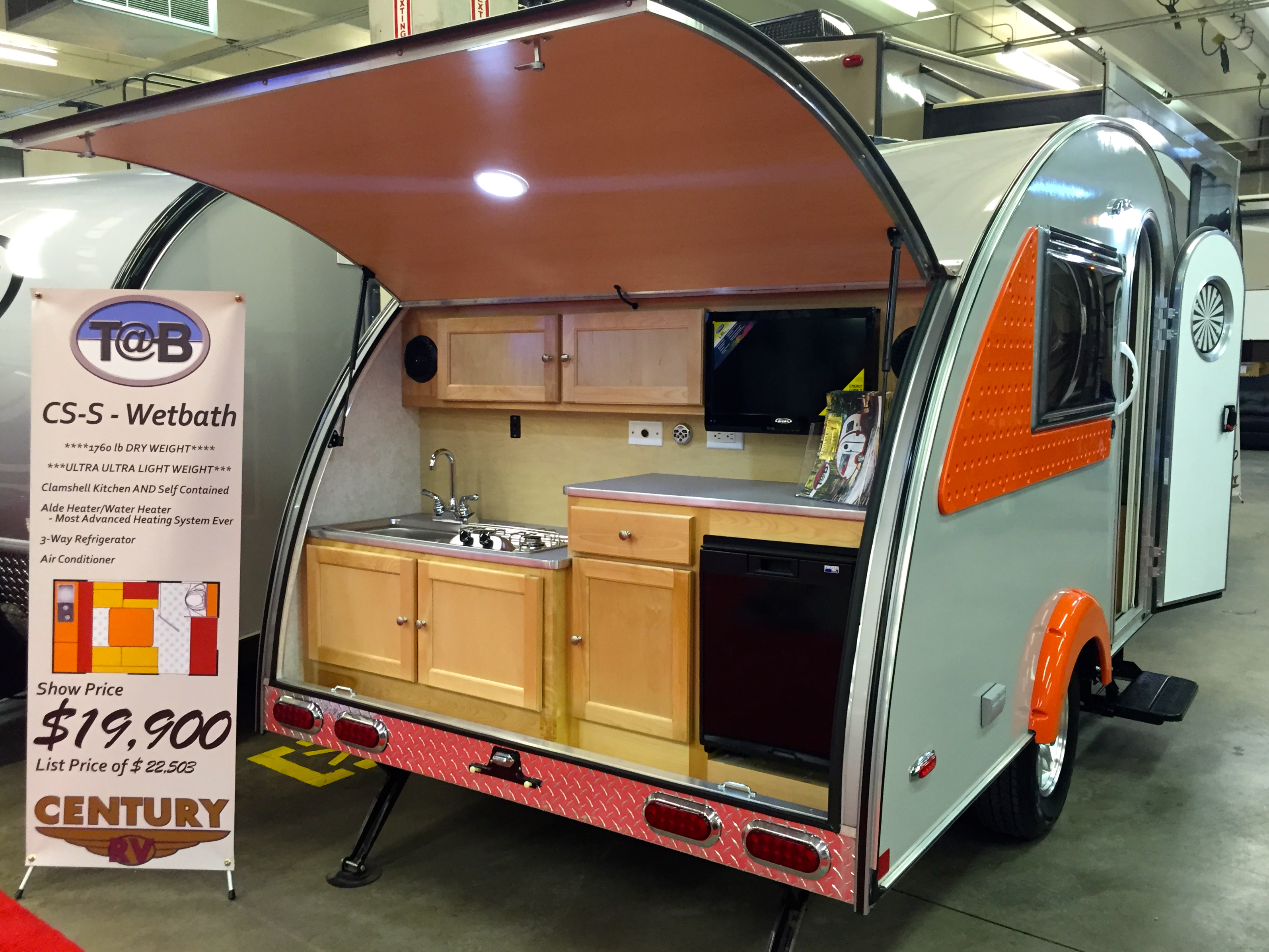 Teardrop Campers, Jumping Jacks, A-frames and other RV