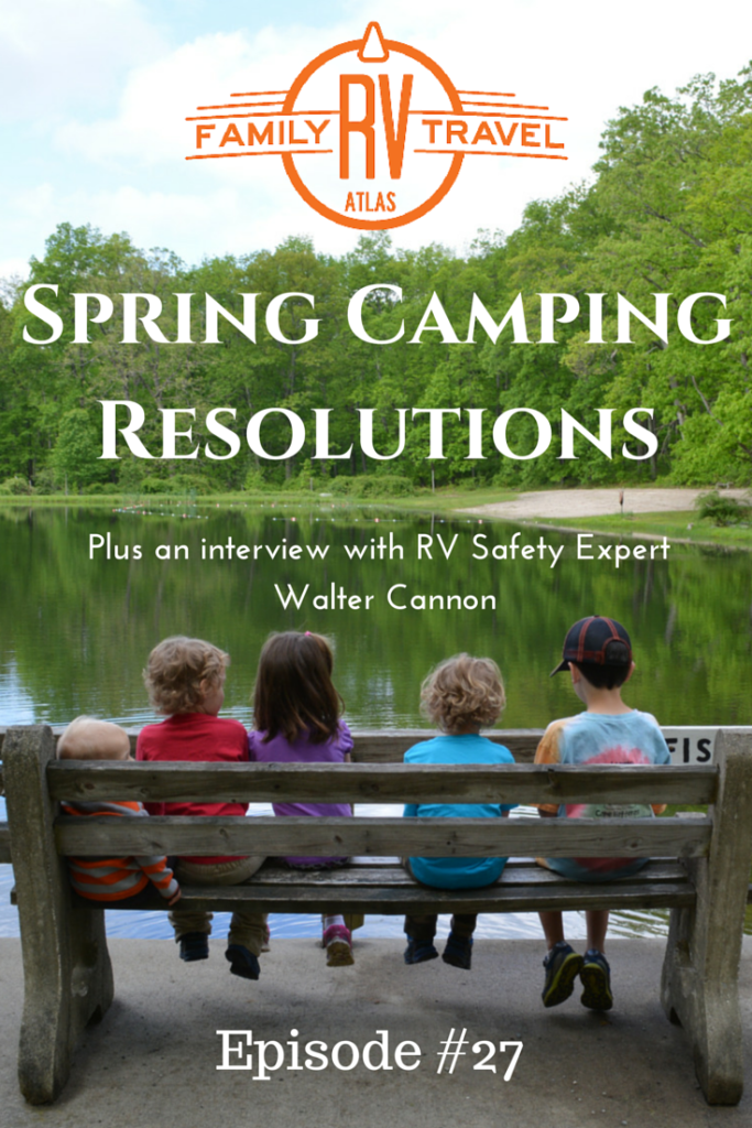 Spring Camping Resolutions Pinterest