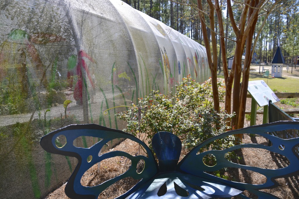 Butterfly Exhibit at Brookgreen Gardens