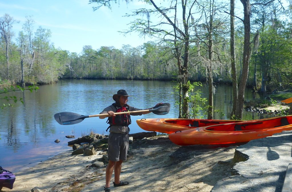 Shaking off Winter on Paul's Cypress Swamp Tour (Myrtle Beach, SC)