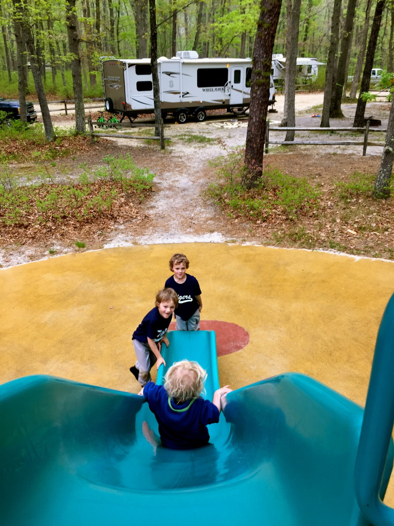 Camping Close to Home at Turkey Swamp Park (Ode to an Adventurous Mom)