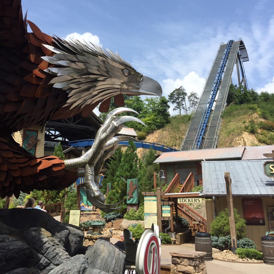 dollywood roller coaster