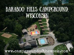 Baraboo Hills Campground, Wisconsin