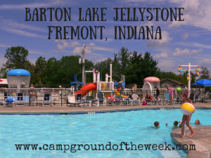 Campground #7: Barton Lake Jellystone in Fremont, Indiana
