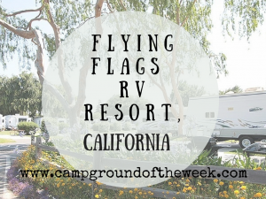 Campground #5: Flying Flags RV Resort, California