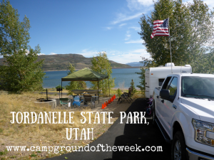 Campground #1: Jordanelle State Park, Utah