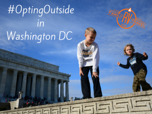 #OptingOutside in Washington, DC blog