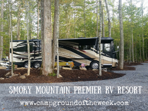 Campground #8: Smoky Mountain Premier RV Resort in Cosby, Tennessee