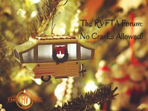The RVFTA Forum_No Cranks Allowed! blog