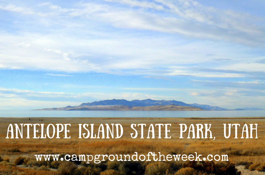 Campground #9: Antelope Island State Park in Utah