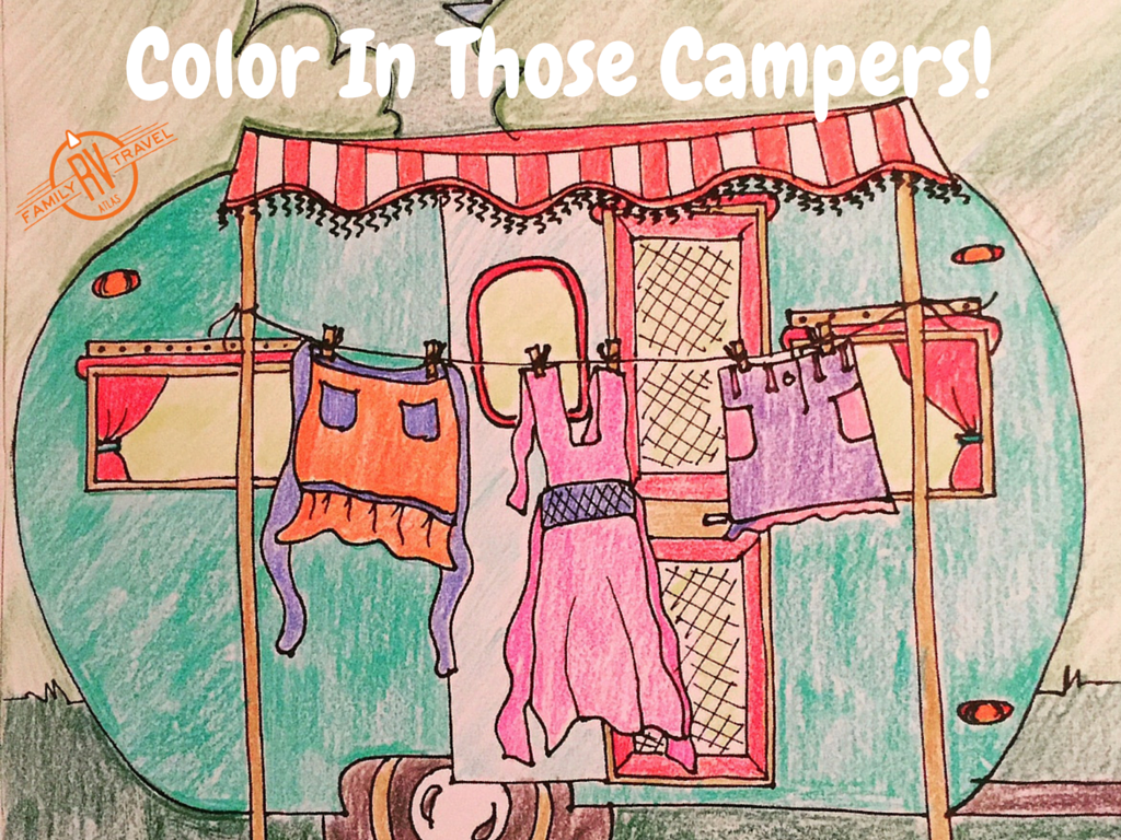 Color In Those Campers!