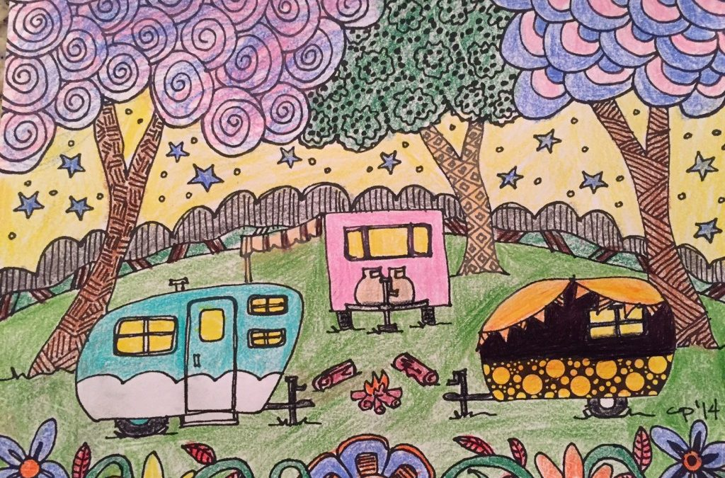 The RVFTA Coloring Contest: A Cure For the Winterization Blues