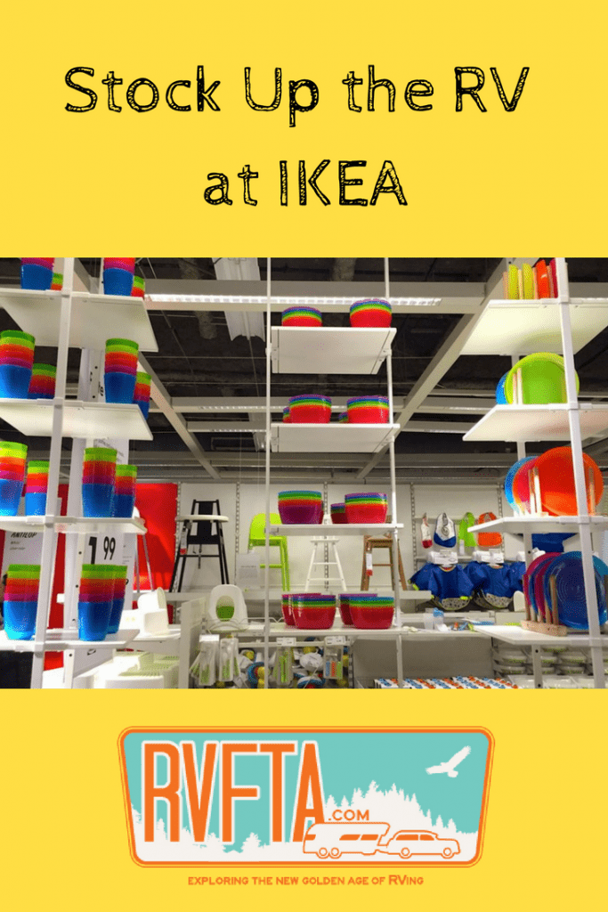 Shopping Ikea Stocking Up The Rv On A Budget With Rvfta