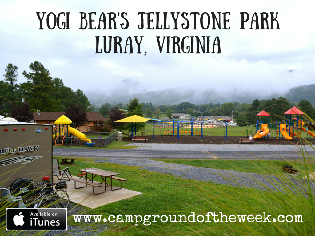 Yogi Bear's Jellystone Park in Luray Virginia