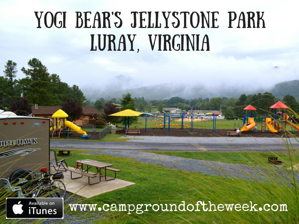 Yogi Bear's Jellystone Park in Luray Virginia