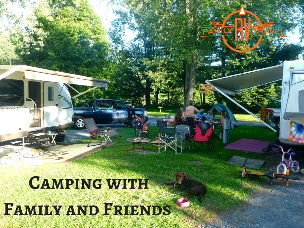 Camping with Family and Friends