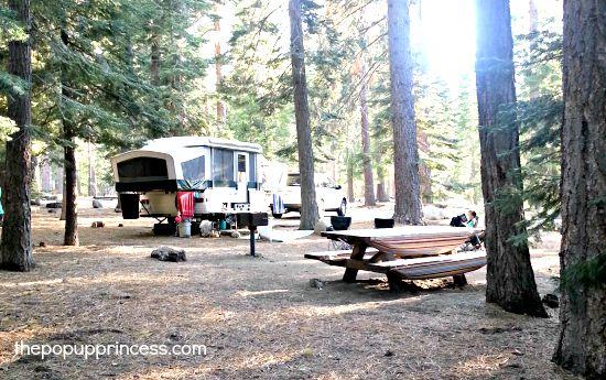 pop up princess campsite