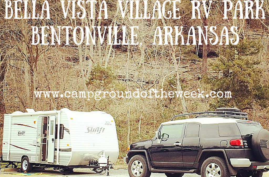 Campground #24 Bella Vista Village RV Park near Bentonville, Arkansas