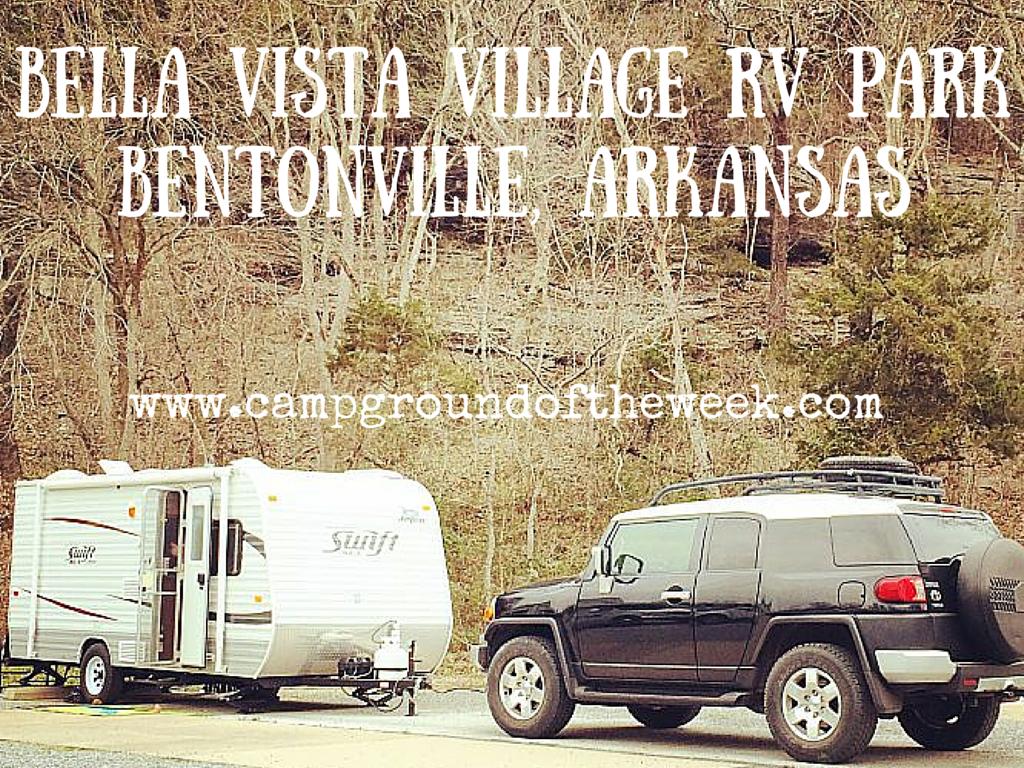 Campground #24 Bella Vista Village RV Park near Bentonville, Arkansas