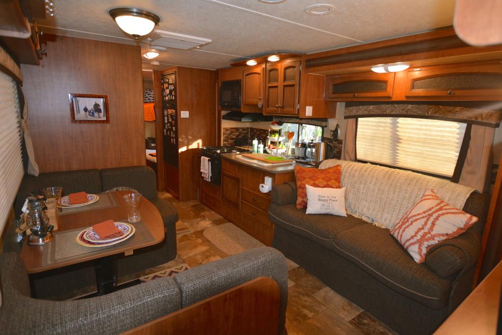 White Hawk Living Room Interior