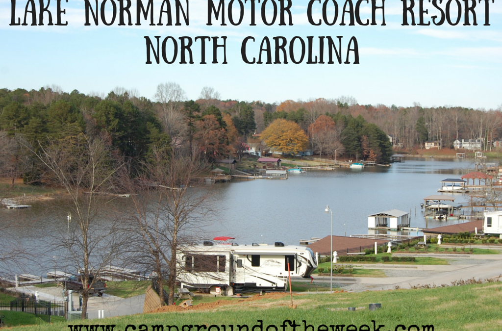 Campground #25 Lake Norman Motor Coach Resort in North Carolina