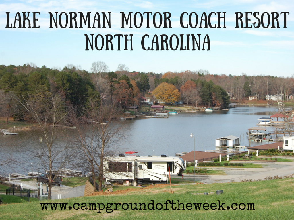 Lake Norman Motor Coach Resort North Carolina