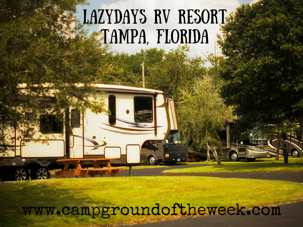 Lazydays RV Resort Tampa FLorida