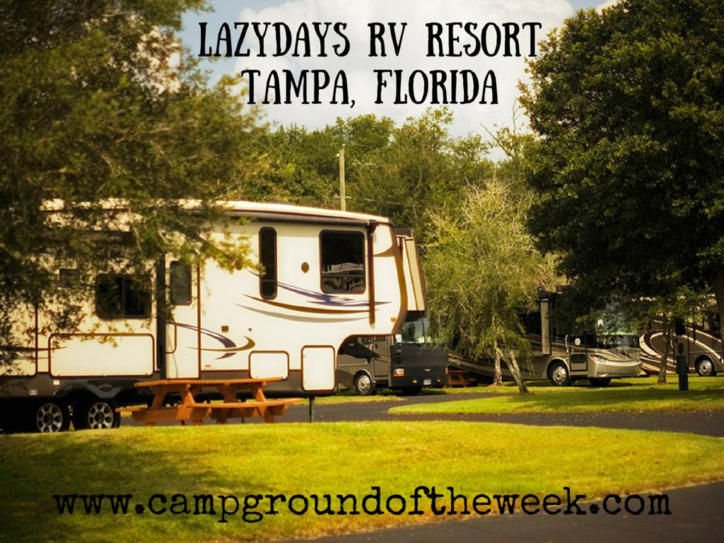 Lazydays RV Resort Tampa FLorida