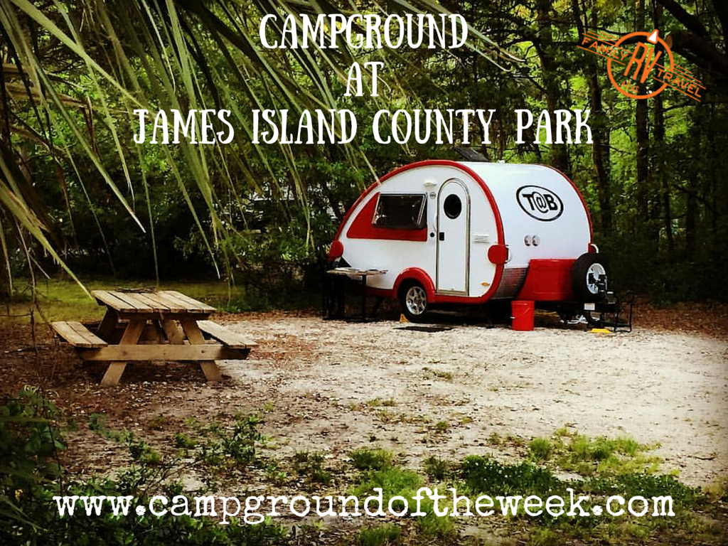 Campground at James Island County Park