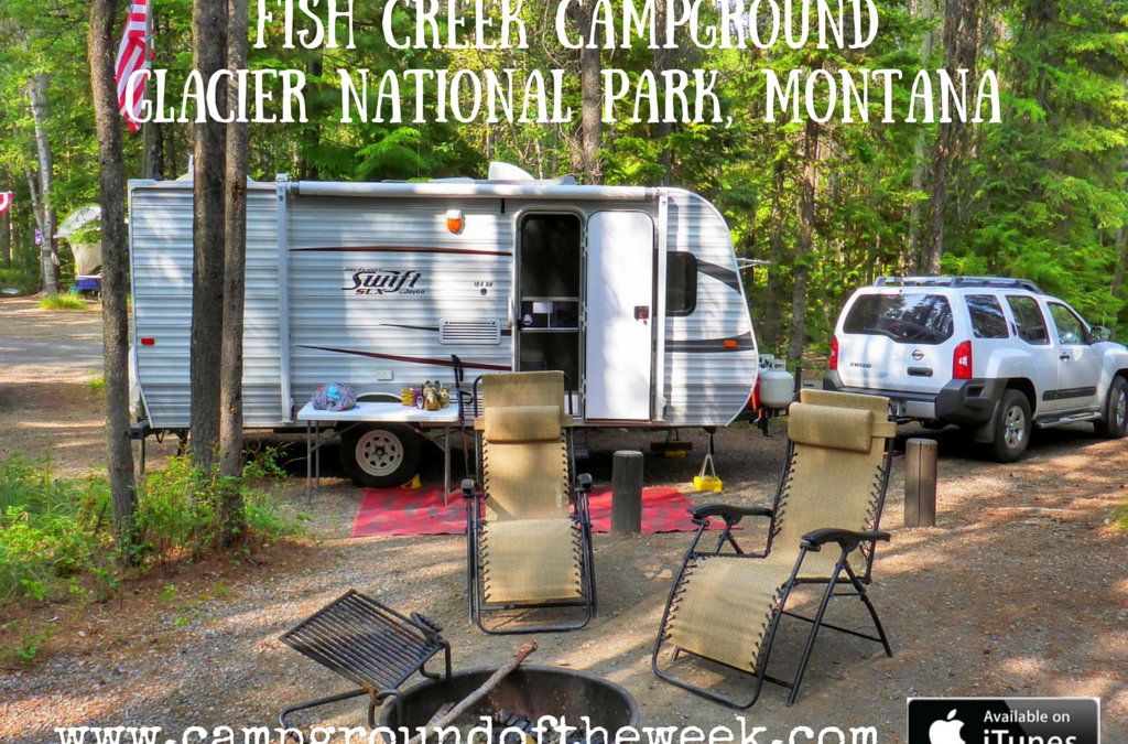 Campground #29 Fish Creek Campground in Glacier National Park, Montana