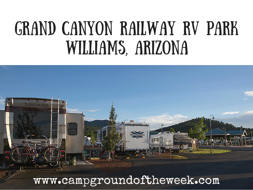 Campground #28 Grand Canyon Railway RV Park in Williams, Arizona