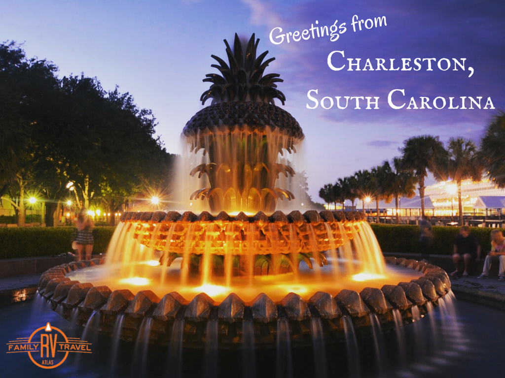 Greetings form Charleston South Carolina