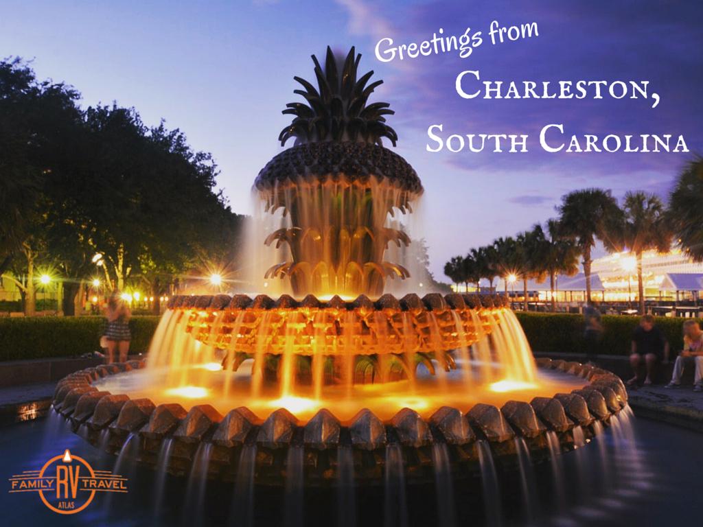 Greetings form Charleston South Carolina