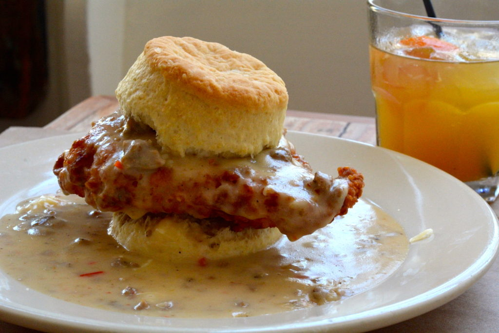 Hominy Grill Chicken and Biscuits
