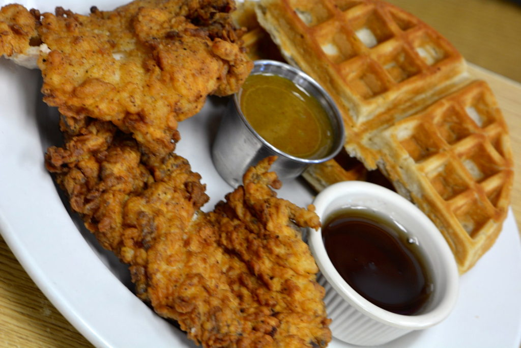 Early Bird Diner Chicken and Waffles