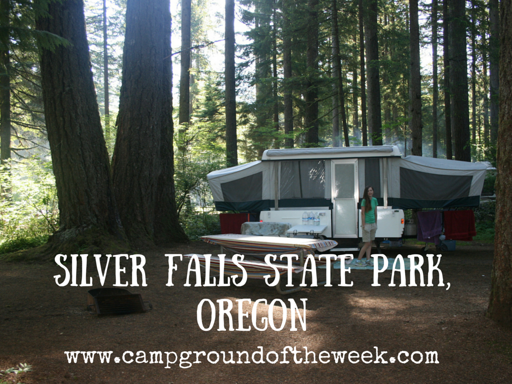 Campground #27 Silver Falls State Park, Oregon