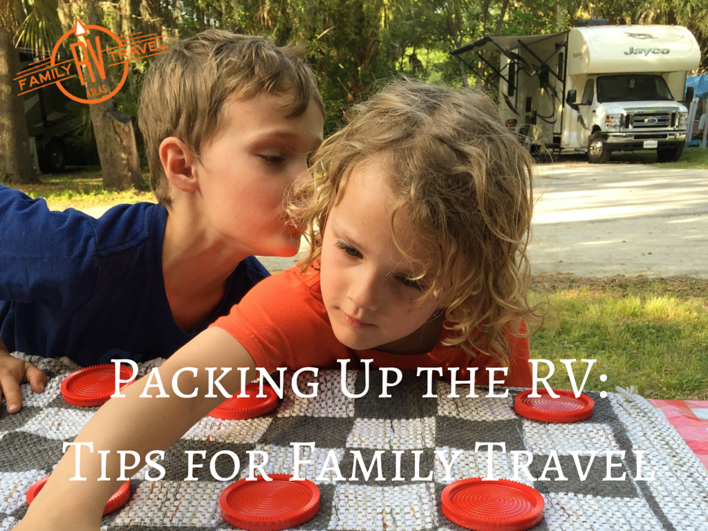 RVFTA #93 Packing up the RV: Creating Prepacked Kits for Easy Travel