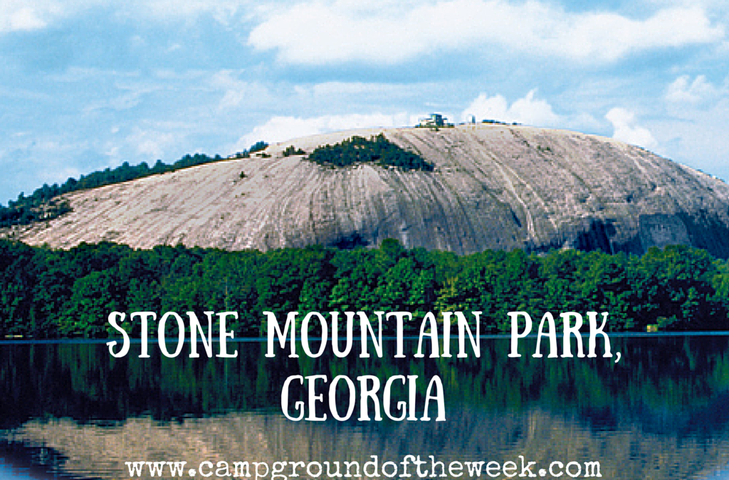 Campground 32 Stone Mountain Park In Georgia Rv Family Travel Atlas