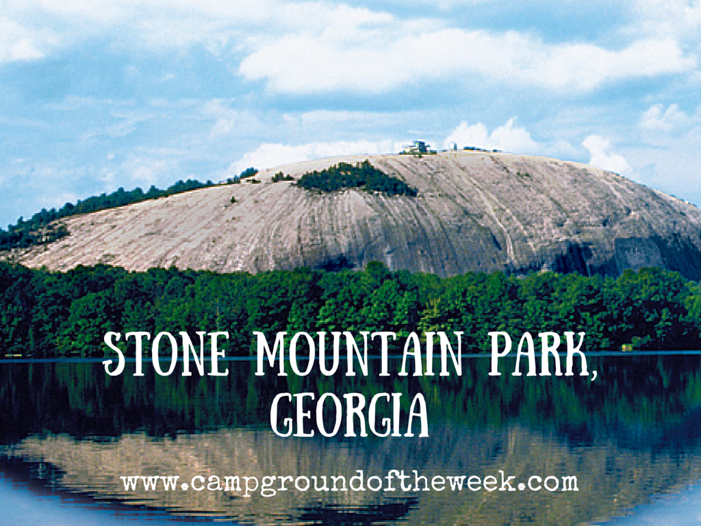Campground #32 Stone Mountain Park in Georgia