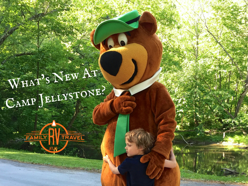 What's New At Camp Jellystone?