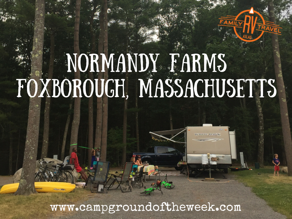 Campground #35 Normandy Farms in Foxborough, Massachusetts