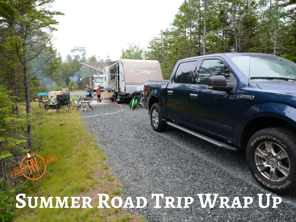 Summer Road Trip Wrap Up