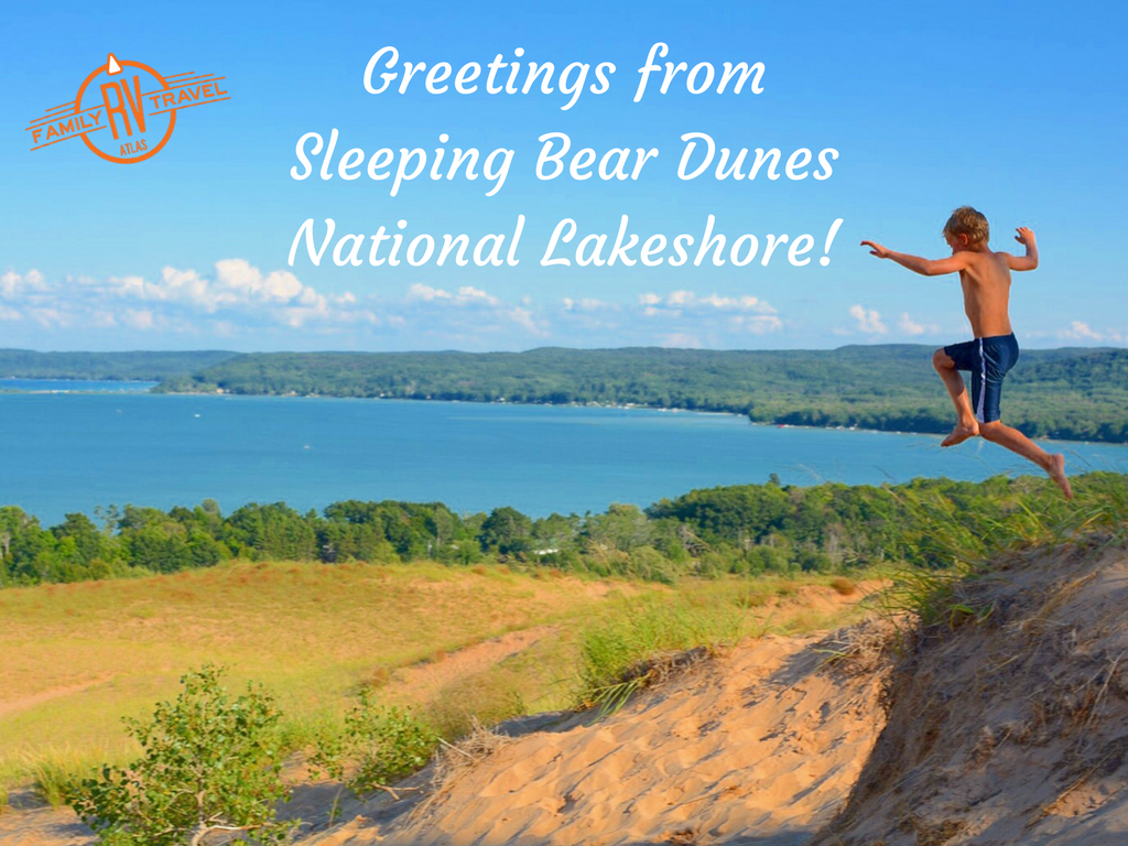 Greetings from Sleeping Bear Dunes National Lakeshore