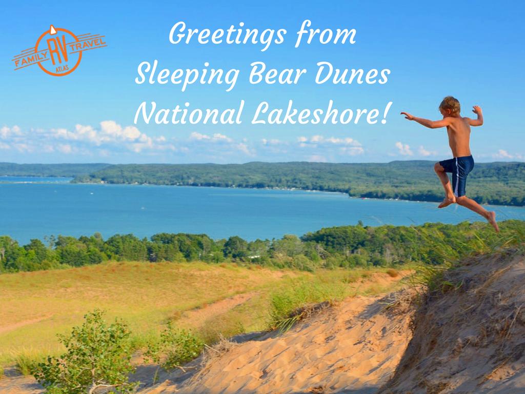 Greetings from Sleeping Bear Dunes National Lakeshore