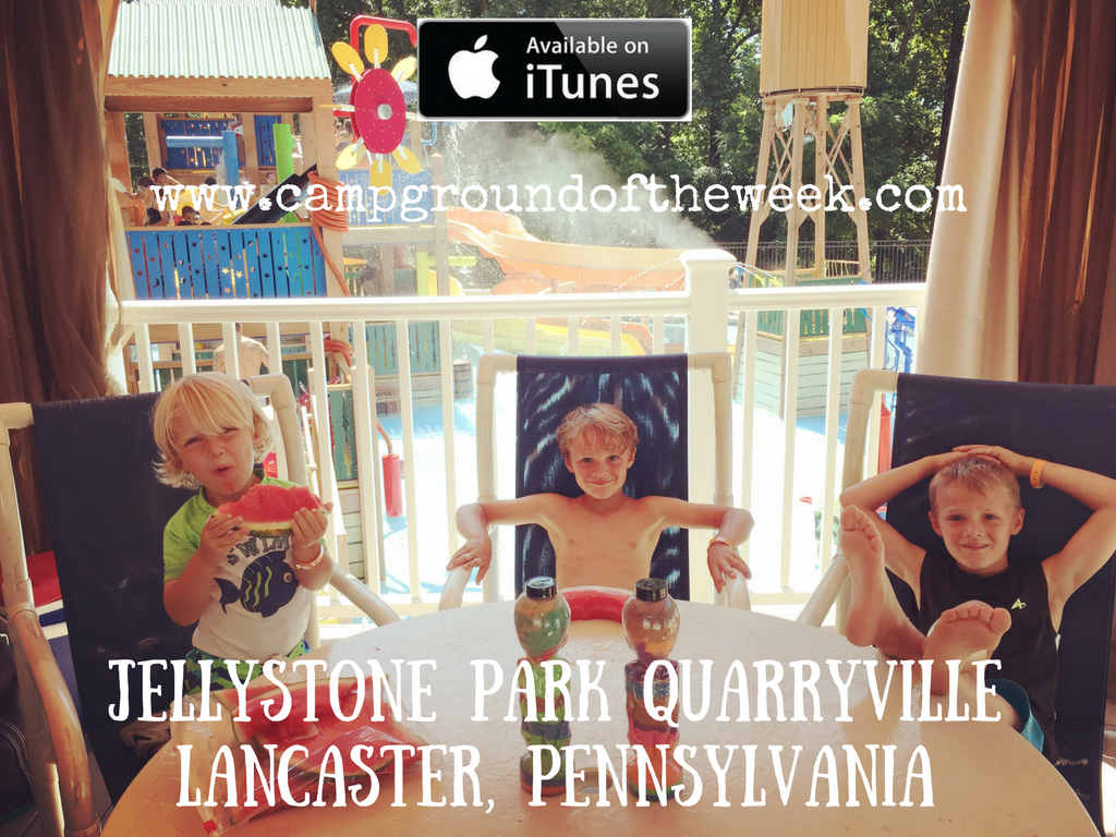 Campground #43 Jellystone Park Quarryville in Lancaster County, Pennsylvania